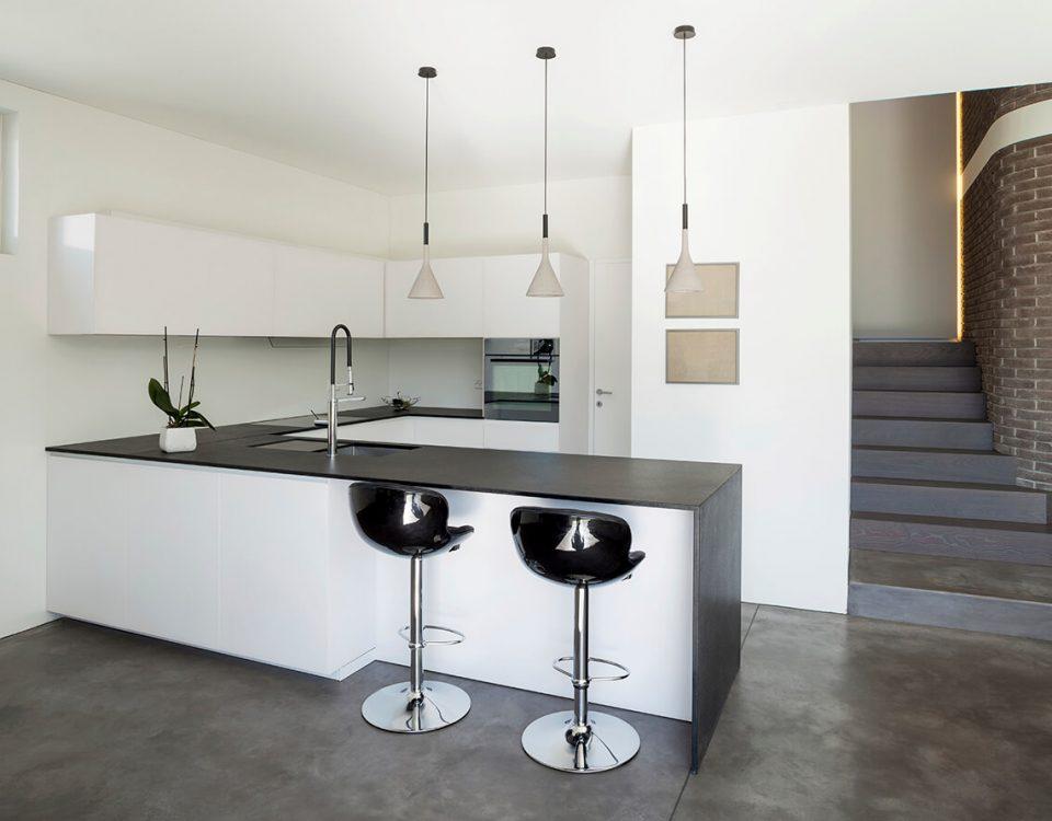 Interior design modern apartment