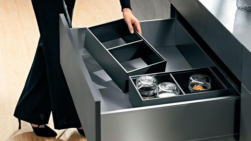 AmbiaLine Storage Dividers Kitchen Organizer