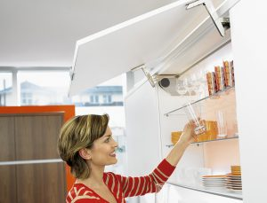 Aventos HS Swings Up and Over Doors System