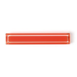 Orange Cuore Acrylic Pulls