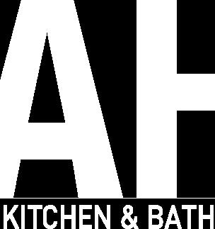 logo white | ah kitchen and countertops